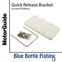 MotorGuide Xi5 Quick Release Bracket White