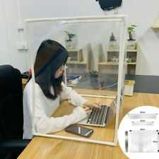 DIY Desk Partition Baffle Screen Anti-spray Transparent Isolation Board Protects
