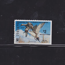 State Hunting/Fishing Revenues - MS - 1980 Duck Stamp MS-5 ($2) - MNH
