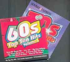 60s & 70s TOP TEN HITS: PROMO 2 CD SET / AMEN CORNER, GEORGIE FAME, JIMMY CLIFF