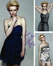 Dakota Blue Richards signed very unique 8x10 photo / autograph