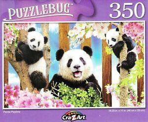NEW Puzzlebug 350 Piece Jigsaw Puzzle ~ Panda Playtime