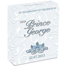 2013 Celebrating the Birth of HRH Prince George 1oz Silver Proof Coin Perth Mint