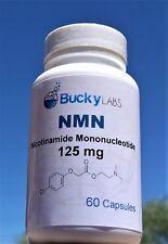 NMN Β-nicotinamide Mononucleotide 125mg 60 Capsules