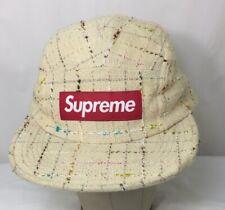 supreme 5 panel hat Strap Back