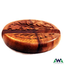 Mobile Phone Holder / Stand Wooden Carved Mobile Phone Accessories Hand made