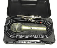 Professional Style Handheld Karaoke DJ Band PA Vocal MICROPHONE w/ Case & Cable