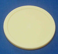 Air Hockey Game Table Puck - Large Commercial 3 1/4 Inch Beige Puck