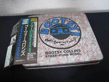 Bootsy Collins What's Bootsy Doin Japan Tin Can Box CD with OBI Book Promo Copy