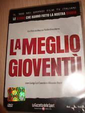 DVD N° 5 FICTION LA MEGLIO GIOVENTU' LE STORIE CHE HANNO FATTO LA NOSTRA STORIA