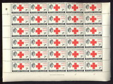 PITCAIRN Is 1963 RED CROSS 2d COMPLETE UM MINT SHEET 60 stamps