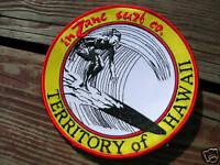 surfing surfer surfboard BIG jacket patch territory of hawaii longboard surf