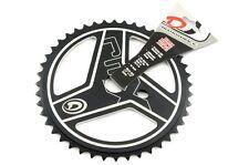 44 BMX DIAMOND BACK denti BMX RACE CHAIN RING ruota in lega leggera nera 50% + OFF