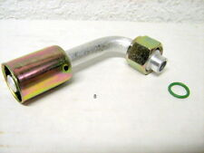 A/C BEADLOCK FITTING,CRIMP ON,FEMALE O RING,90 DEGREE # 6 NUT,#6 HOSE 084 BL1321