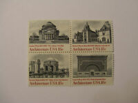 United States Scott 1928-1931, the 18 cent American Architecture Block