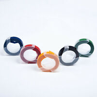 Colors Label Maker Embossing Refill Tape 9mm X 3Meters Fits For MOTEX Dymo Use