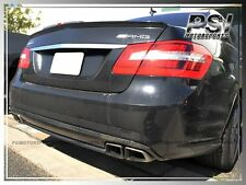 AMG Carbon Fiber Trunk Spoiler Lip for 10-13 MB W212 E63 E200 E250 E350 E550 4Dr