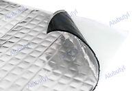 Car Van Damping Mat 0.25 sqm Soundproofing Noise Insulation Mat 4 sheets 25x25cm