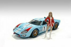 RACE DAY 2 FIGURE VI 1/24 scale Figurine AMERICAN DIORAMA 76400
