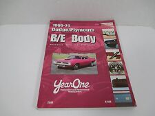 2003 YearOne Restoration Parts & Accessories for 1966-74 Dodge Plymouth B/E Body