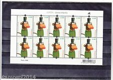 PORTUGAL CEPT EUROPA MINI SHEET 10 STAMPS (2010)   MNH(**)