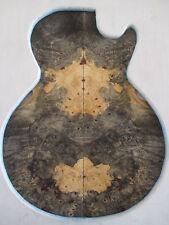 "Buckeye burl book match set luthier guitar wood  ""Please read below""  #715"