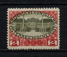 (YYAH 853) Austria 1908 MLH Mich 154  Scott 125