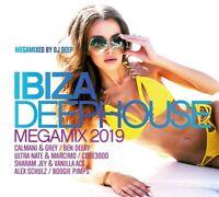 IBIZA DEEPHOUSE MEGAMIX 2019  3 CD NEU
