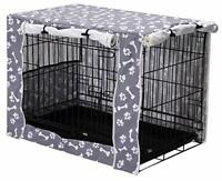 """Dog Crate Cover Durable Polyester Pet Kennel Cover Universal Fit for Wire 42"""""""