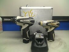 MAKITA Cordless DRILL and IMPACT DRIVER Set TD090D DF030D + case