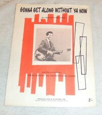 Trini Lopez Sheet Gonna Get Along Without Ya Now Hit For Disco Queen Viola Wills