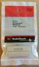 NEW! RadioShack 50 Ohm 10 Watt Wirewound Resistors 2710133 *FREE SHIPPING*