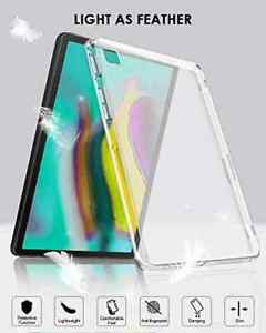 Slim Soft Silicon CLEAR TPU Gel Skin Case Cover For Samsung Galaxy Tablets