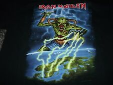 IRON MAIDEN TOUR T-SHIRT LEGACY OF THE BEAST NORDIC 2018 XL
