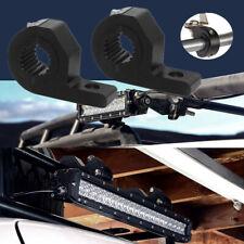 2Pc Car SUV 30mm Spotlight Bull Bar Driving Bracket Light Clamp Fog Mount Holder