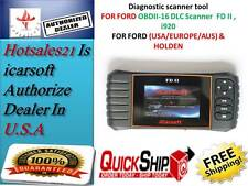 Ford & Holden Car Diagnostic Scanner tool oil SRS ABS ENGINE iCarsoft FD II i920