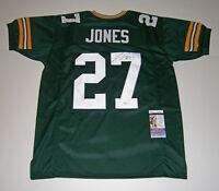 PACKERS Josh Jones signed custom jersey w/ #27 JSA COA AUTO Autographed ROOKIE