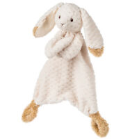 Mary Meyer Oatmeal Bunny Lovey Blanket Plush Toy