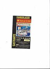 DTM Sammler Ticket NORISRING 1992, 200 Meilen von Nürnberg 26. - 28.06.1992