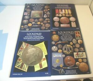 4 Auction Lockdales Coins Stamps Banknotes Tokens Medals etc  Auction Catalogue