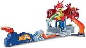 Hot Wheels Dragon Blast Vehicle Playset