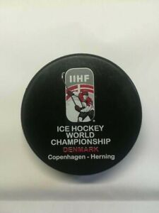 Ice hockey world championship Denmark - OFFICIAL GAME PUCK