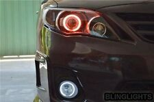 2009 2010 Toyota Corolla Halo E140 Fog Lamp Angel Eye Driving Light Kit+ Harness