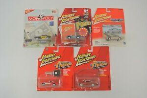 Johnny Lightning Mustang Cobra Pontiac Corvette Impala Diecast Cars Lot of 5 NOC