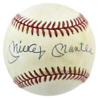 Yankees Mickey Mantle Signed Authentic Oal Baseball PSA/DNA #G29634