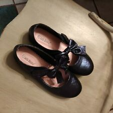 Girls Size 3 Navy Sparkle Mary Janes by Jelly Beans