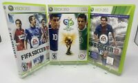 Xbox 360 Three Game lot: EA Sports FIFA Soccer10,13 plus  FIFA World Cup Germany