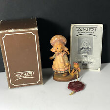 Anri Playtime Figurine vintage 1984 Italy woodcarving box Sarah Kay collection