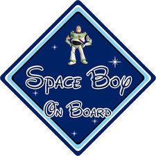Disney Espace Garçon À Bord Voiture Signe-Bébé à bord-Toy Story Buzz Lightyear DB