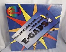 NIB E-GADS Board Game CCI Games Luck Chance Strategy 2-4 players- age 8-Adult